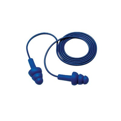 Ultra Fit Metal Detectable Ear Plugs, Bl