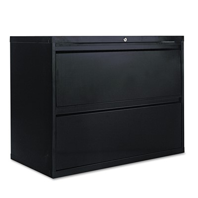 Two-Drawer Lateral File Cabinet, 36w x 1