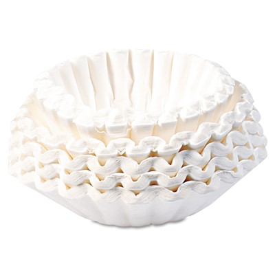 Commercial Coffee Filters, 12-Cup Size,