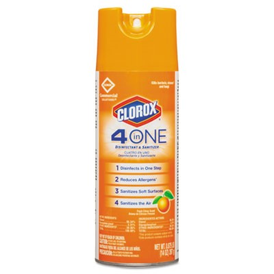 4 in One Disinfectant & Sanitizer Aeroso