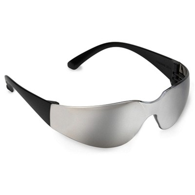 Bulldog Safety Glasses-Silver Mirror Len