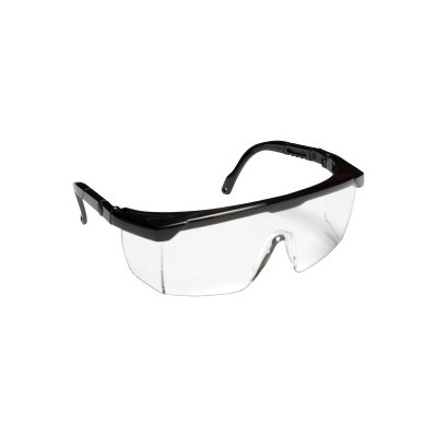 Retriever II Safety Glasses Black Frame,