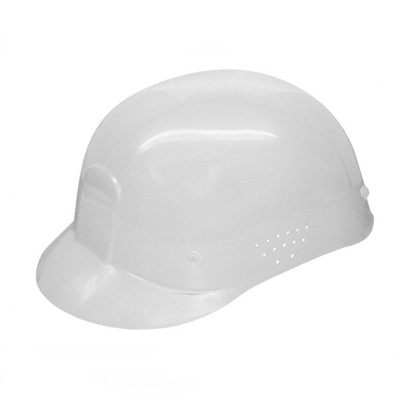 White Ventilated Bump Cap, 4-Point Pinlo