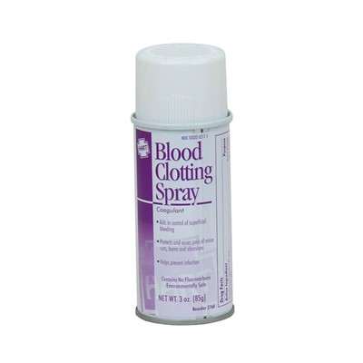 Blood Clotting Spray, 3oz, Aerosol, EA