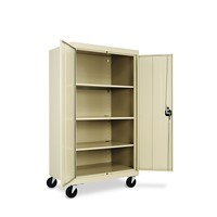 Assembled Mobile Storage Cabinet, w/Adju