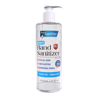 Gel Hand Sanitizer 70%, 8oz Pump Top