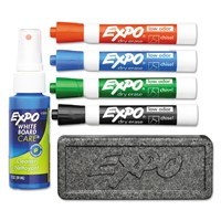 Low-Odor Dry Erase Marker Starter Set, B